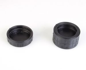 Lens Mount Caps come in both Single and Double Versions