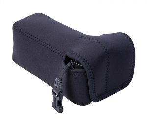The padded neoprene Soft Pouch™ - Digital D-Series protects your camera (Uni-Loops not included)