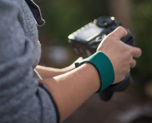The SLR Wrist Strap™ offers a low-profile way to keep your gear secure