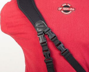 Use two sets of Gender Changers™ for multi-camera straps like the Utility Sling-Duo