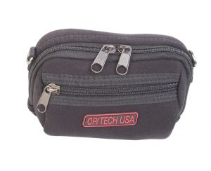 The padded neoprene Soft Pouch - Zippeez (Large) fits many compact cameras